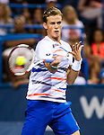 Vasek Pospisil (CAN) defeats Richard Gasquet (FRA) 6-7(5), 6-3, 7-5