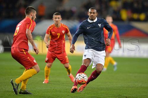 28.03.2016. Stade LeMans,  Le Mans, France, U-21 2017 Euros qualification. France versus Macedonia.   SEBASTIEN HALLER