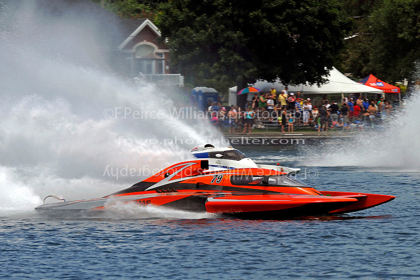 "Mike Monahan, GP-79 ""Bad Influence"" (Grand Prix Hydroplane(s)"