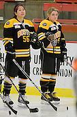 Jessica Koizumi (Boston - 56), Annie Hogan (Boston - 91) - The Boston Blades defeated the visiting Toronto Hockey Club 4-2 on Sunday, February 6, 2011, at Bright Hockey Center in Cambridge, Massachusetts.