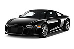 2017 Audi R8 quattro 2 Door Coupe angular front stock photos of front three quarter view