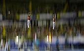 Nikita Fedorenko y Dmitry Ushakov de Russia en gimnsia acrobatic trampoline en el Coliseo del Pueblo durante los Juegos Mundiales Cali 2013 el lunes 29 de julio de 2013. <br /> Photo: Coldeportes/Archivolatino