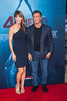 Los Angeles, CA - AUGUST 13th: <br /> Jennifer Flavin, Sylvester Stallone attends the 47 Meters Down: Uncaged premiere at the Regency Village Theater on August 13th 2019. Credit: Tony Forte/MediaPunch