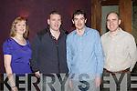 CHRISTMAS FUN: Enjoying the Altobridge Christmas party at the Carlton hotel on Thursday l-r: Mary Dwyer, Joe Cahill, Tadhg Crotty and Denis Herlihy.