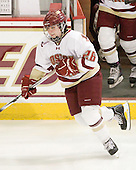 Jessica Martino (BC - 26) - The Boston College Eagles and the visiting University of New Hampshire Wildcats played to a scoreless tie in BC's senior game on Saturday, February 19, 2011, at Conte Forum in Chestnut Hill, Massachusetts.