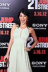 LOS ANGELES, CA - MAR 13: Perrey Reeves at the premiere of Columbia Pictures '21 Jump Street' held at Grauman's Chinese Theater on March 13, 2012 in Los Angeles, California