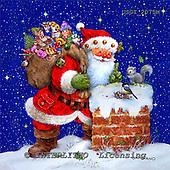 GIORDANO, CHRISTMAS SANTA, SNOWMAN, WEIHNACHTSMÄNNER, SCHNEEMÄNNER, PAPÁ NOEL, MUÑECOS DE NIEVE, paintings+++++,USGI2075M,#X#