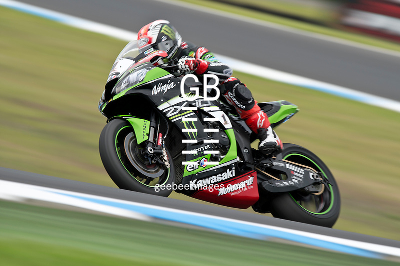 2016 Superbike World Championship, Winter Test, Phillip Island, Australia, 22-23 February 2016, Jonathan Rea, Kawasaki