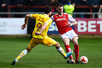Fleetwood Town's Ashley Eastham in action<br /> <br /> Photographer Richard Martin-Roberts/CameraSport<br /> <br /> The EFL Sky Bet League One - Fleetwood Town v Millwall - Monday 17th April 2017 - Highbury Stadium - Fleetwood<br /> <br /> World Copyright &copy; 2017 CameraSport. All rights reserved. 43 Linden Ave. Countesthorpe. Leicester. England. LE8 5PG - Tel: +44 (0) 116 277 4147 - admin@camerasport.com - www.camerasport.com