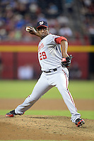Washington Nationals pitcher Rafael Soriano (29) during a game against the Arizona Diamondbacks at Chase Field on September 28, 2013 in Phoenix, Arizona.  Washington defeated Arizona 2-0.  (Mike Janes/Four Seam Images)