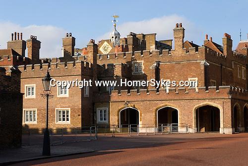 St James's Palace, Marlborough Road entrance London SW1. UK