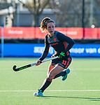 UTRECHT - Lisa Post (Ned)   tijdens   de Pro League hockeywedstrijd wedstrijd , Nederland-China (6-0) .  COPYRIGHT  KOEN SUYK
