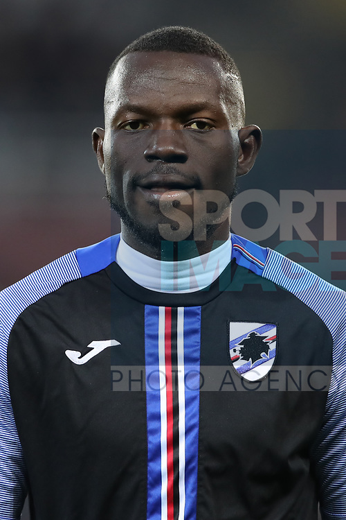 Omar Colley of Sampdoria during the Serie A match at Stadio Grande Torino, Turin. Picture date: 8th February 2020. Picture credit should read: Jonathan Moscrop/Sportimage
