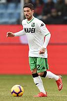 Stefano Sensi of Sassuolo <br /> Genova 03-02-2019 Stadio Marassi, Football Serie A 2018/2019 Genoa - Sassuolo   <br /> Foto Image Sport / Insidefoto