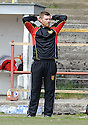Albion Rovers boss Paul Martin ....
