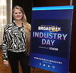 BroadwayHD's Bonnie Commley attends Industry Day during Broadwaycon at New York Hilton Midtown on January 11, 2019 in New York City.