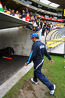 India's Sashin Tendulkar walks off the pitch during 2nd Twenty20 cricket match match between New Zealand Black Caps and West Indies at Westpac Stadium, Wellington, New Zealand on Friday, 27 February 2009. Photo: Dave Lintott / lintottphoto.co.nz