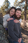 Jessica and Samson are engaged in the Rocky Mountains at  Estes Park, Colorado, USA