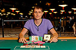 Event 11 winner Viacheslav Zhukov