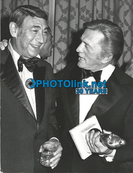 CelebrityArchaeology.com<br /> New York City<br /> 1980 FILE PHOTO<br /> Howard Cosell Kirk Douglas<br /> Photo By John Barrett-PHOTOlink.net<br /> -----<br /> CelebrityArchaeology.com, a division of PHOTOlink,<br /> preserving the art and cultural heritage of celebrity<br /> photography from decades past for the historical<br /> benefit of future generations, for these images are<br /> significant, both historically and aesthetically.<br /> ——<br /> Follow us:<br /> www.linkedin.com/in/adamscull<br /> Instagram: CelebrityArchaeology<br /> Blog: CelebrityArchaeology.info<br /> Twitter: celebarcheology