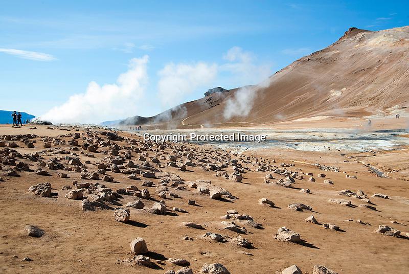 Geothermal Vent Iceland