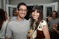 Oren Zoldan, Sharon Zoldan==<br /> LAXART 5th Annual Garden Party Presented by Tory Burch==<br /> Private Residence, Beverly Hills, CA==<br /> August 3, 2014==<br /> ©LAXART==<br /> Photo: DAVID CROTTY/Laxart.com==