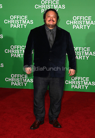 "Westwood, CA - DECEMBER 07: Adrian Martinez, At Premiere Of Paramount Pictures' ""Office Christmas Party"" At Regency Village Theatre, California on December 07, 2016. Credit: Faye Sadou/MediaPunch"