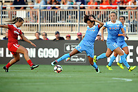 Boyds, MD - Saturday August 26, 2017: Christen Press during a regular season National Women's Soccer League (NWSL) match between the Washington Spirit and the Chicago Red Stars at Maureen Hendricks Field, Maryland SoccerPlex.