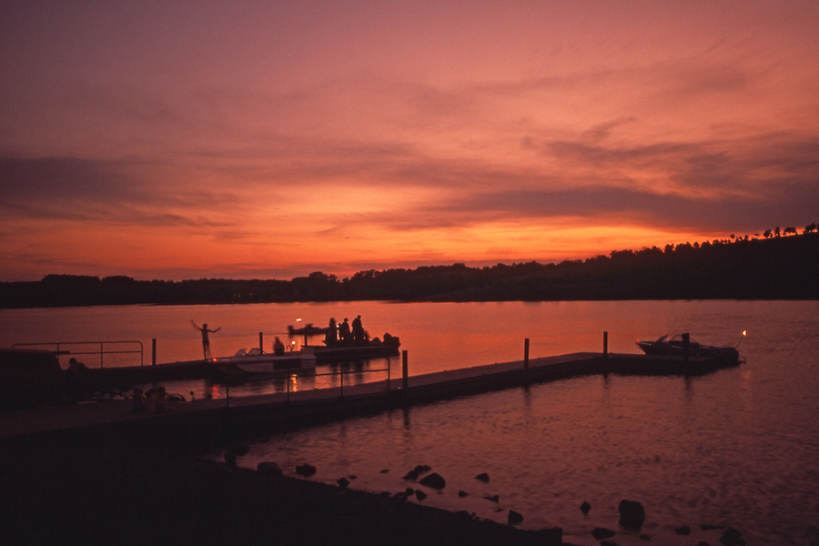 Blue Marsh Lake, Berks County, PA, Sunset