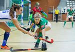 Almere - Zaalhockey Kampong-Push . Lisa Gerritsen (Kam)   COPYRIGHT KOEN SUYK