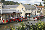 Kennet and Avon Canal, Bath, England, UK