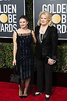 Chloe Malle (L) and Golden Globe nominee Candice Bergen attends the 76th Annual Golden Globe Awards at the Beverly Hilton in Beverly Hills, CA on Sunday, January 6, 2019.<br /> *Editorial Use Only*<br /> CAP/PLF/HFPA<br /> Image supplied by Capital Pictures