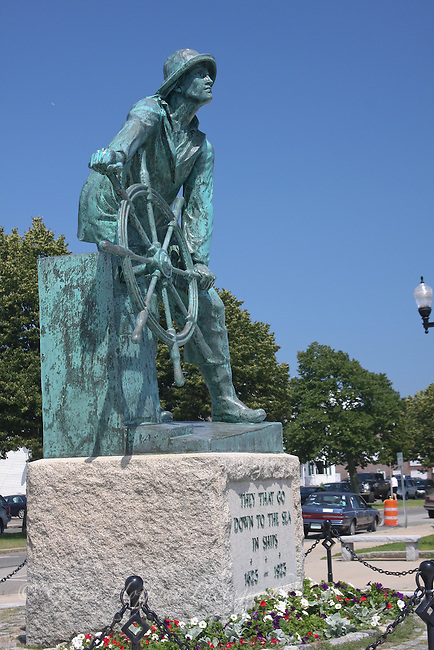 Gloucester Fisherman statue, Gloucester, MA