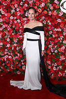 NEW YORK, NY - JUNE 10: Laurie Metcalf  at the 72nd Annual Tony Awards at Radio City Music Hall in New York City on June 10, 2018.