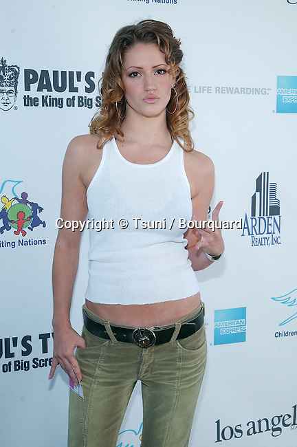 Leigh Jones arriving at the 2002 International Day of the Child At-Risk at Santa Monica Pier in Los Angeles. November 10, 2002.           -            JonesLeigh320.jpg