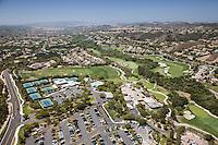 Coto de Caza Golf and Racket Club Aerial Stock Photos