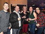 Eugene and Pat Finnegan, Sandra Gough, Suzanne Leech and Karen Theron pictured at the white collar boxing in the Westcourt Hotel in aid of Drogheda Animal Rescue. Photo:Colin Bell/pressphotos.ie