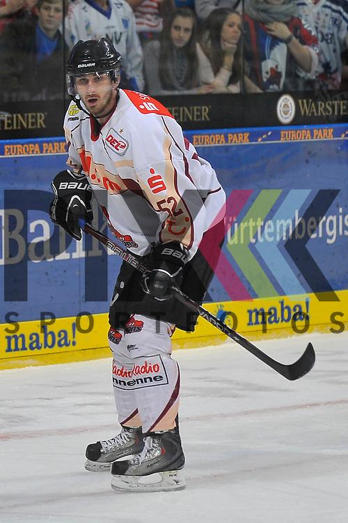 Mannheim 04.11.12, DEL, Adler Mannheim - Hannover Scorpions, Hannovers Sachar Blank (Nr.52) <br /> <br /> Foto &copy; Ice-Hockey-Picture-24 *** Foto ist honorarpflichtig! *** Auf Anfrage in hoeherer Qualitaet/Aufloesung. Belegexemplar erbeten. Veroeffentlichung ausschliesslich fuer journalistisch-publizistische Zwecke. For editorial use only.