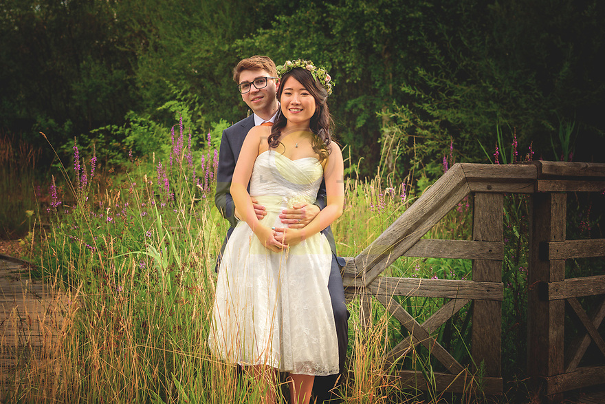 Wedding Photography at the London Wetland Centre