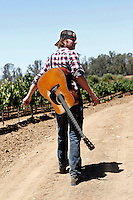 August 14, 2010: Legendary Award-winning country singer-songwriter Dierks Bentley performs live for a video shoot before the 'Rhythm on the Vine' charity event to benefit Shriners Children Hospital held at  the South Coast Winery Resort & Spa in Temecula, California..Photo by Nina Prommer/Milestone Photo