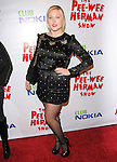Hayley Hasselhoff at the The Pee-Wee Herman Show Opening Night held at Club Nokia at L.A. Live in Los Angeles, California on January 20,2010                                                                   Copyright 2009 DVS / RockinExposures