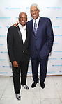 "Kenny Leon and Julius ""Dr. J"" Erving attend the SDC Foundation presents The Mr. Abbott Award honoring Kenny Leon at ESPACE on March 27, 2017 in New York City."
