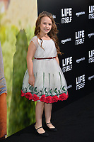 LOS ANGELES, CA. September 13, 2018: Kya Kruse at the premiere for &quot;Life Itself&quot; at the Cinerama Dome.<br /> Picture: Paul Smith/Featureflash