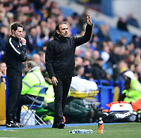 Sheffield Wednesday manager Jos Luhukay shouts instructions to his team from the technical area<br /> <br /> Photographer Chris Vaughan/CameraSport<br /> <br /> The EFL Sky Bet Championship - Sheffield Wednesday v Bolton Wanderers - Saturday 10th March 2018 - Hillsborough - Sheffield<br /> <br /> World Copyright &copy; 2018 CameraSport. All rights reserved. 43 Linden Ave. Countesthorpe. Leicester. England. LE8 5PG - Tel: +44 (0) 116 277 4147 - admin@camerasport.com - www.camerasport.com
