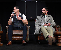"""HOLLYWOOD - MAY 29: JD Pardo and Clayton Cardenas attend the FYC event for FX's """"Mayans M.C."""" at Neuehouse Hollywood on May 29, 2019 in Hollywood, California. (Photo by Frank Micelotta/FX/PictureGroup)"""