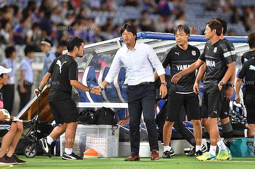 Hiroshi Nanami (Jubilo),<br /> JULY 23, 2016 - Football / Soccer :<br /> Jubilo Iwata head coach Hiroshi Nanami after the 2016 J1 League 2nd stage match between Yokohama F Marinos 1-1 Jubilo Iwata at Nissan Stadium in Kanagawa, Japan. (Photo by AFLO)