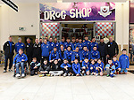 Drogheda United team and fans pictured at the Drog Shop in Scotch Hall. Photo:Colin Bell/pressphotos.ie