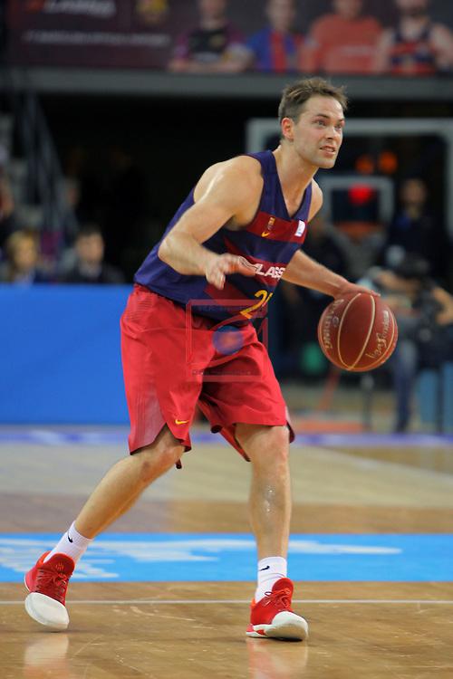 League ACB-ENDESA 2016/2017 - Game: 21.<br /> FC Barcelona Lassa vs ICL Manresa: 92-72.<br /> Petteri Koponen.