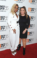 "NEW YORK, NY - OCTOBER 12:  Mary J. Blige  and Angie Martinez attends the 55th NYFF World Premiere of ""Mudbound"" at Alice Tully Hall on October 12, 2017 in New York City. Photo Credit: John Palmer/MediaPunch"