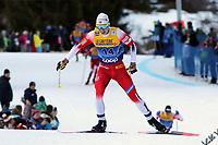5th January 2020; Val Di Fiemme Ski Resort, Val Di Fiemme, Trento, Italy; International Ski Federation Audi FIS Mens Cross Country Ski World Cup, Tour De Ski Val Di Fiemme; Simen Krueger (NOR)